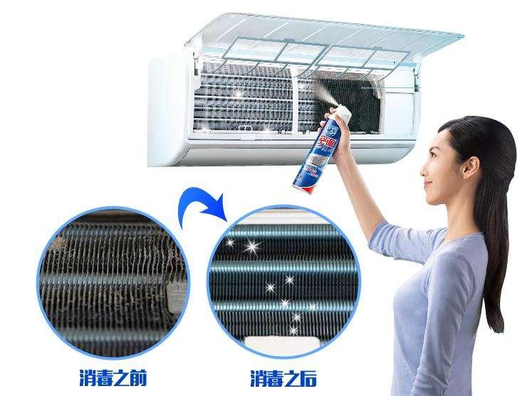 空调清洗前后对比